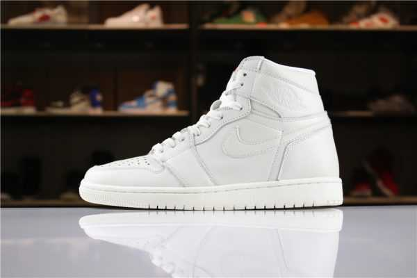 "Air Jordan 1 High Premium ""Pure Platinum"" AA3993-030 Men' s Size For Sale"