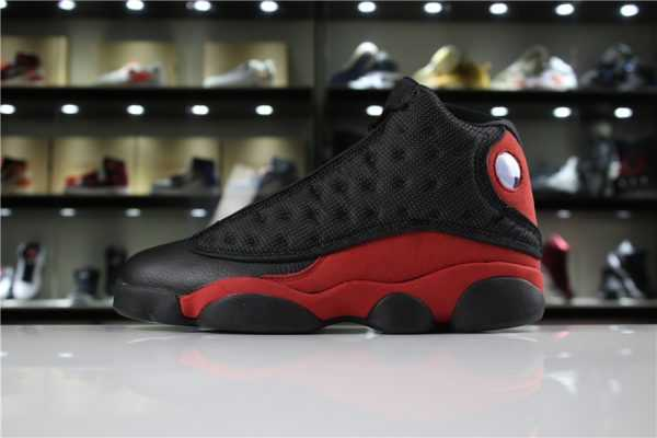 "New Air Jordan 13 Retro ""Bred"" Black/True Red-White For Sale"