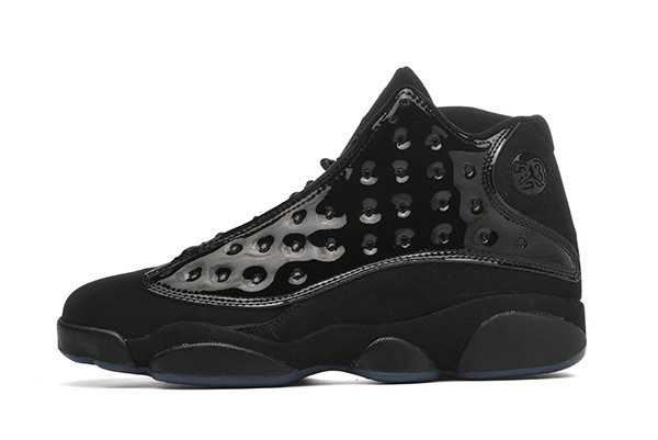 2019 Mens Air Jordan 13 Retro Cap and Gown Black 414571-012