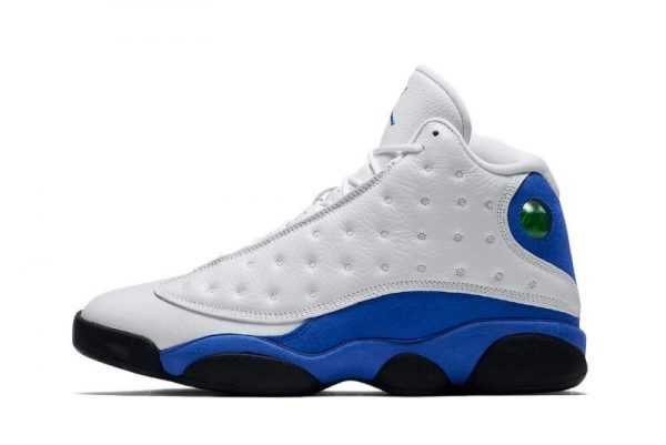 2018 New Air Jordan 13 ' yper Royal' White/Hyper Royal-Black 414571-117