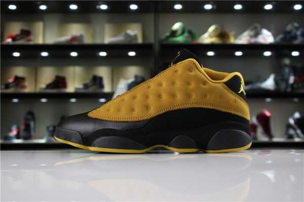 "Cheap Men' s Air Jordan 13 Low ""Chutney"" Chutney/Black-White 310810-022"