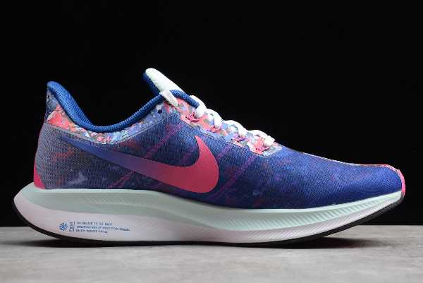 CI2951-941 Mens and WMNS Nike Zoom Pegasus 35 Turbo Multi-Color Floral Blue For Sale