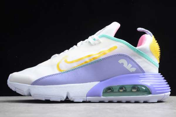 CT7698-009 Nike Air Max 2090 White/Violet/Pink/Bright Yellow 2020 For Sale