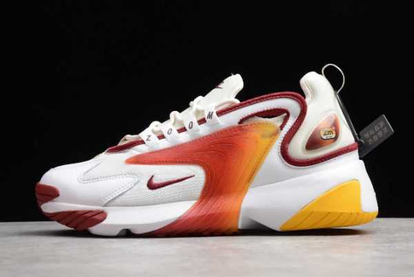 Nike Zoom 2K Team Red White Light Orewood Brown Casual Shoes AO0269-103