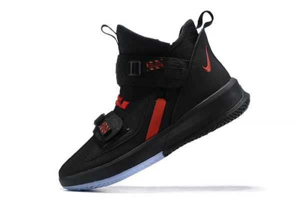 Nike LeBron Soldier 13 Black/University Red Men's Size