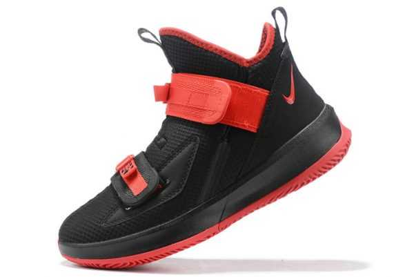 Nike LeBron Soldier 13 Black/Red On Sale