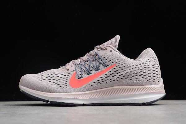 Nike WMNS Zoom Winflo 5 Particle Rose/Flash Crimson AA7414-006 Running Shoes