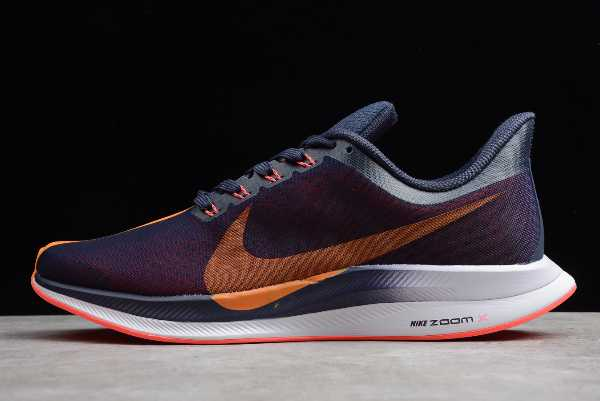 AJ4114-486 Mens Nike Zoom Pegasus 35 Turbo Blackened Blue Orange Peel For Sale