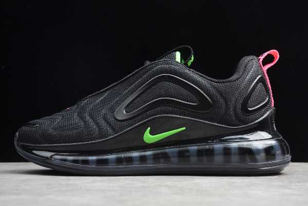 CQ4614-001 Nike Air Max 720 Black Green Men's and Women's Size For Sale