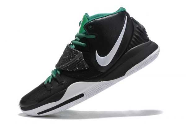 Nike Kyrie 6 Black/Green-White For Sale