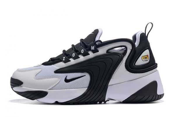 Nike Zoom 2K White Black Shoes AO0269-101 Free Shipping