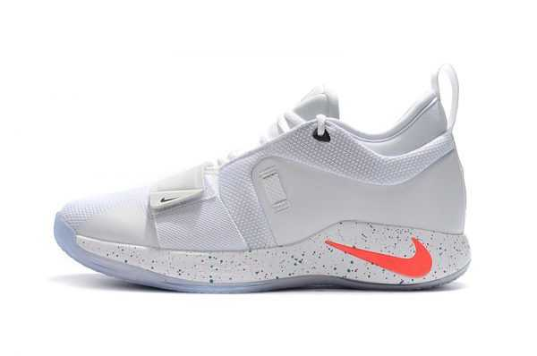 2018 Nike PG 2.5 White/Multi-Color Men's Shoes