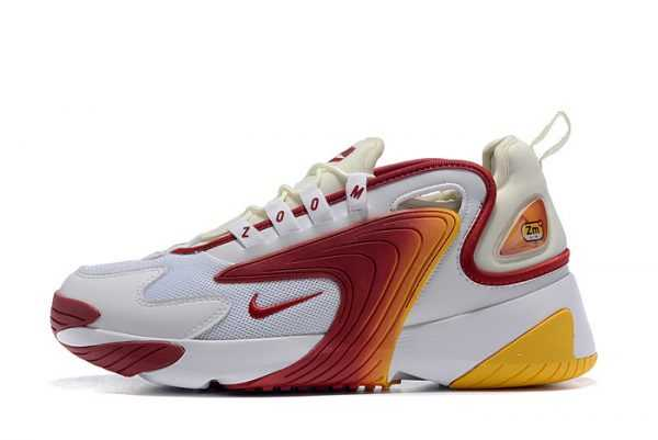 Buy Men's Nike Zoom 2K White/Red-Yellow Shoes